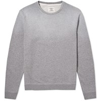 Kent And Curwen Hutton Core Crew Sweat Grey