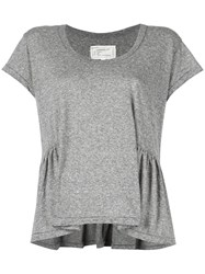Current Elliott 'The Girlie' T Shirt Grey