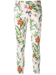 Ermanno Scervino Floral Skinny Trousers