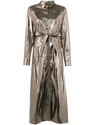 Jovonna Beverly Trench Silver