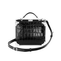 Aspinal Of London Mini Trunk Black