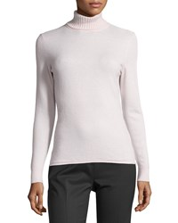 Lafayette 148 New York Cashmere Turtleneck Sweater Lotus