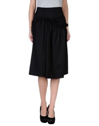 Simone Rocha Knee Length Skirts Black