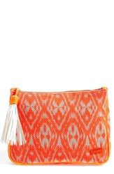 Stephanie Johnson 'Tamarindo Orange' Large Zip Top Cosmetics Case
