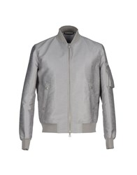Mauro Grifoni Coats And Jackets Jackets Men Grey