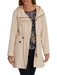 Betty Barclay Crossover Hooded Parka Tapioca