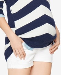 Ag Jeans Maternity Shorts White