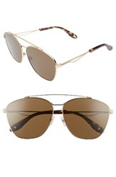 Givenchy Women's 65Mm Round Aviator Sunglasses