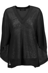 Magaschoni Cashmere Sweater Black