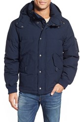 Men's Schott Nyc Hooded Down Jacket