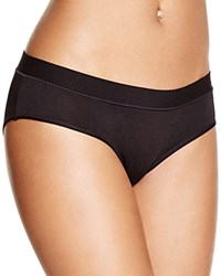 Naked Satin Modern Brief W120210 Black