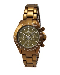Toywatch Chrono Metallic Olive Watch
