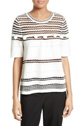 Kate Spade Women's New York Pom Swing Sweater