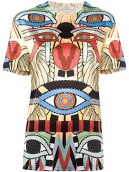 Givenchy 'Crazy Cleopatra' Print T Shirt Multicolour