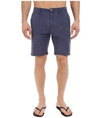 Volcom Snt Faded Hybrid Shorts Navy Men's Shorts
