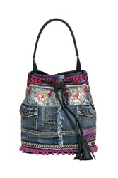 Desigual Arosa Ethnic Deluxe Bag Blue