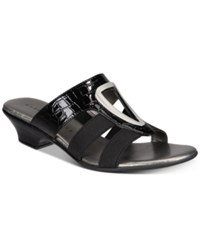 Karen Scott Engle Sandals Black
