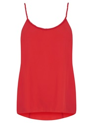Oasis Rope Neck Cami Rich Red