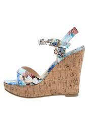 Refresh High Heeled Sandals Azul Multicoloured