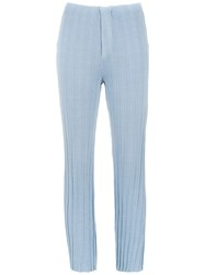 Osklen Straight Fit Trousers Blue