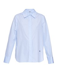 Adam By Adam Lippes Point Collar Pinstripe Shirt