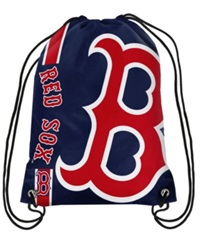 Forever Collectibles Boston Red Sox Big Logo Drawstring Bag Navy