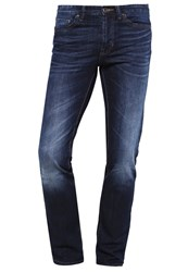 United Colors Of Benetton Straight Leg Jeans Dark Blue