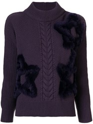 Lorena Antoniazzi Star Embroidered Jumper 60