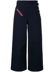 Polo Ralph Lauren Cropped Trousers Blue