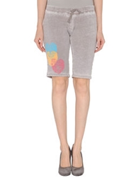 Dirtee Hollywood Sweat Shorts Dove Grey