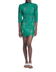 Tracy Reese Floral Lace Sheath Dress Amazon Green
