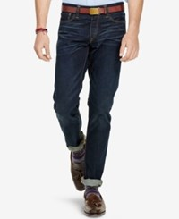 Polo Ralph Lauren Men's Sullivan Slim Fit Hamilton Wash Stretch Jeans Indigo