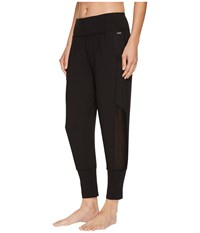 Jockey Active Tempo Cropped Jogger Deep Black Casual Pants