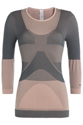 Adidas By Stella Mccartney Yoga Seamless T Shirt Rose