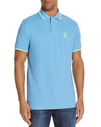 Psycho Bunny Neon Regular Fit Polo Shirt Bluebell