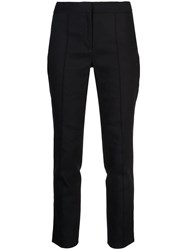 Adam By Adam Lippes Slim Fit Trousers Blue