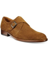 Tasso Elba Men's Lucca Single Monk Loafers Only At Macy's Men's Shoes Tobacco