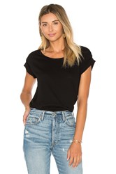 Cotton Citizen Marbella Crew Neck Tee Black