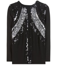 Altuzarra Madge Sequin Embellished Blouse Black