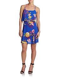Collective Concepts Floral Print Shift Dress