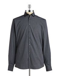 Pure Dotted Sportshirt Black
