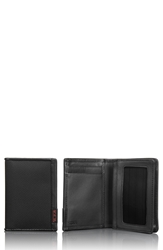 Tumi 'Alpha Id Locktm' Shielded Gusseted Card And Id Case Black
