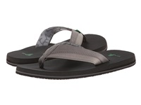 Sanuk Beer Cozy Light Charcoal Men's Sandals Gray