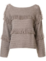 Ulla Johnson 'Lordes' Pullover Brown