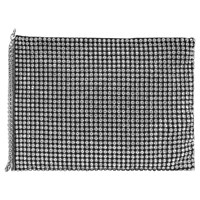 Reiss Cindy Embellished Clutch Bag Silver
