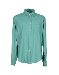 Hartford Shirts Shirts Men Light Green
