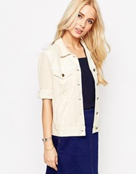Sister Jane Sandi Jacket With Lace Trim Stone