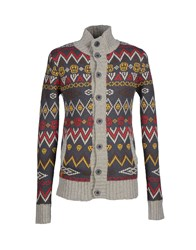 Revolution Knitwear Cardigans Men Lead