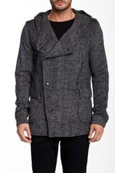 Joe's Jeans Sebastian Knit Coat Gray