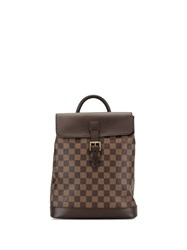 Louis Vuitton 2005 Soho Backpack Brown
